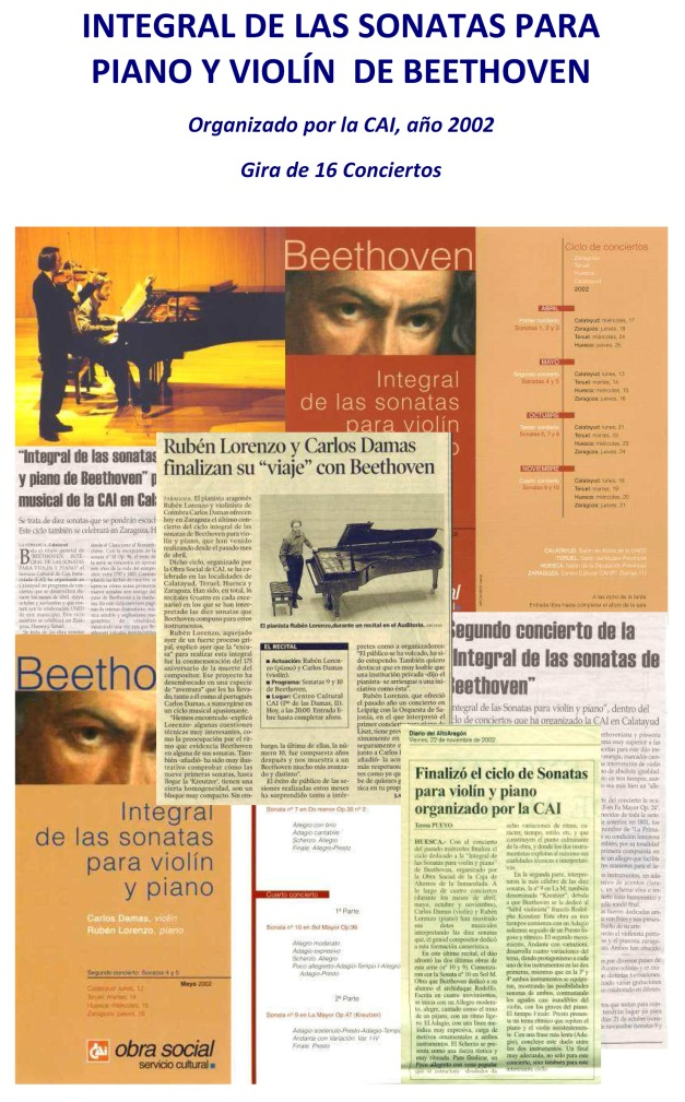 beethoven violin y piano