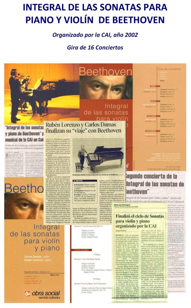 beethoven violin y piano