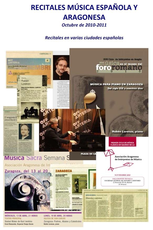 Musica Española y aragonesa