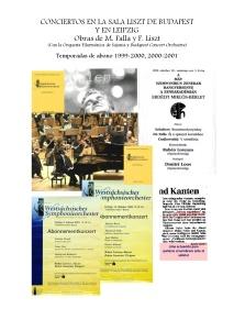1 Ciclo de conciertos Budapest - Leipzig