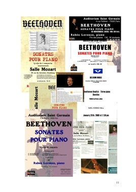 11 Integral de Sonatas de Beethoven