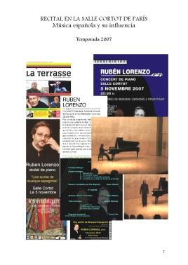 7 Recital Salle Cortot