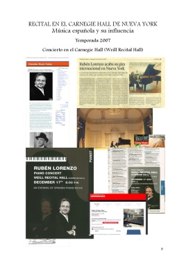 9 Recital en el Carnegie Hall